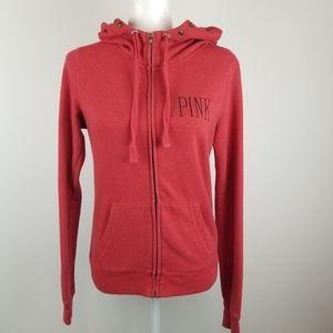 Pink Victoria's Secret Full Zip Hoodie Jacket